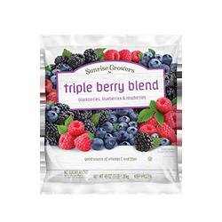 triple berry blend